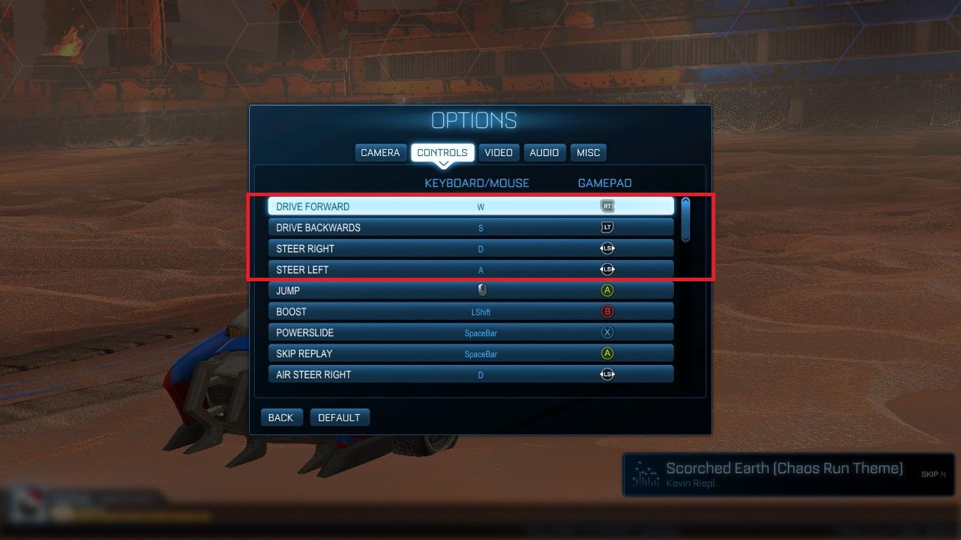 Squishy Rocket League Controls : Steam Community :: Guide :: [Rocket League Edition] How To Optimize PC Controls