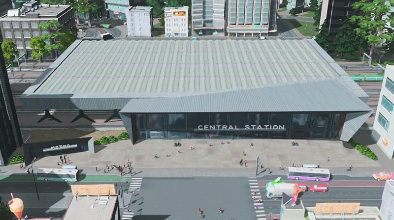 Modular Through Station   Modern Central   BadPeanut - SKYMODS