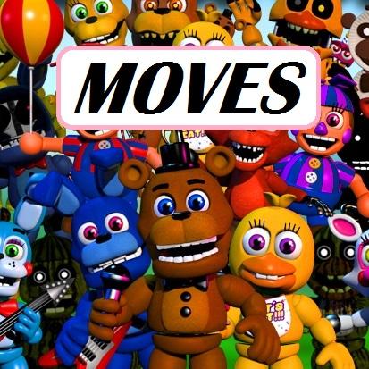 Κοινότητα Steam :: Οδηγός :: All Characters and their Moves in FNAF