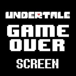 Steam Workshop :: Undertale Death Screen (Game Over)