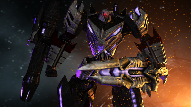 steam workshop transformers fall of cybertron megatron