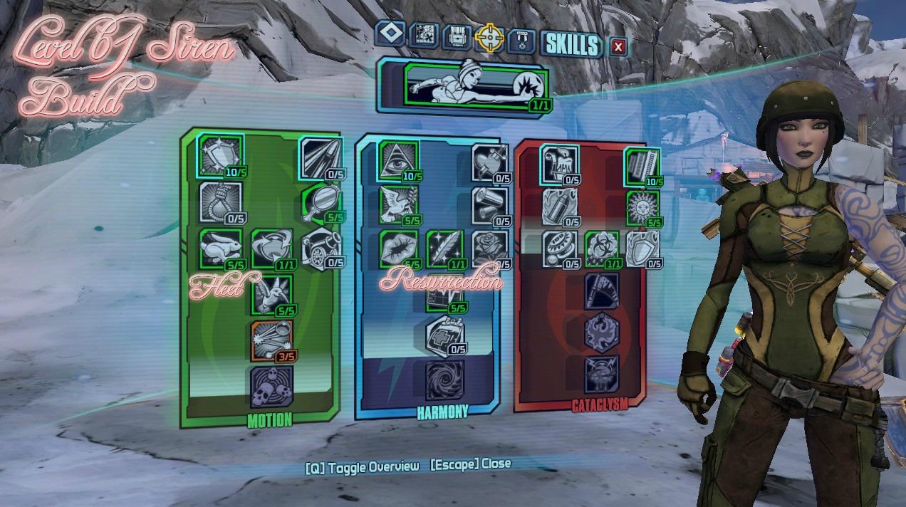 steam community guide level 61 siren build