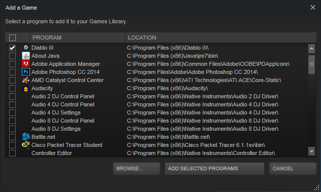 Steam Community :: Guide :: Adding a Non-Steam Game to Your Library
