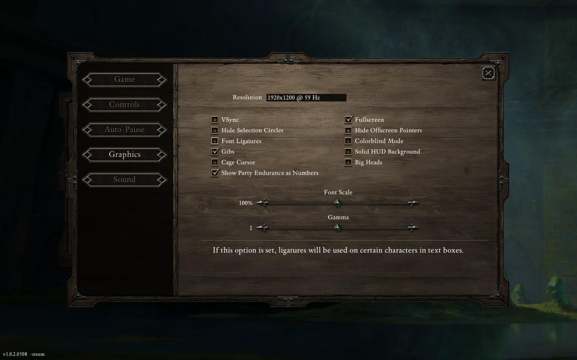 Steam Community :: Screenshot :: font ligatures    ok now you're