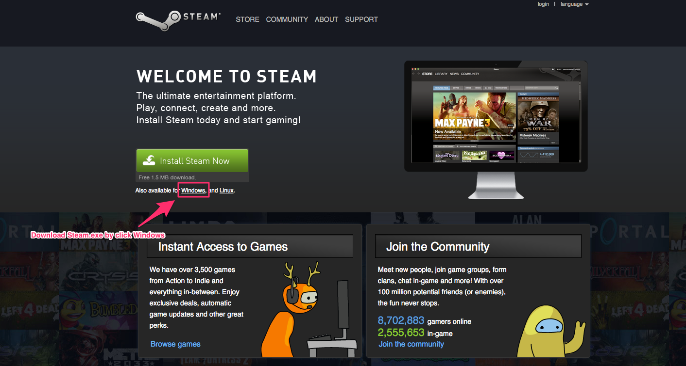 steam mac 10.6.8