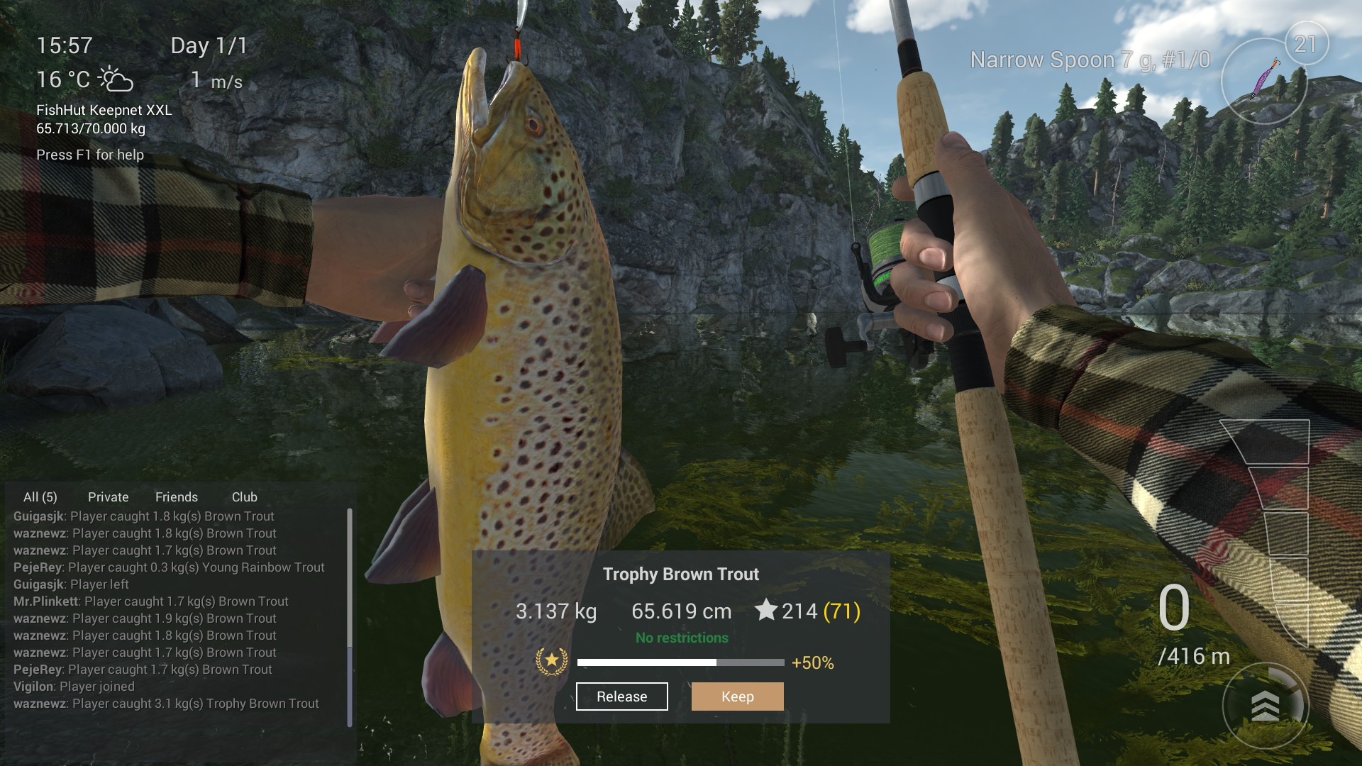 Steam Community :: Guide :: Oregon - Uni/Trophy Rainbow Trout