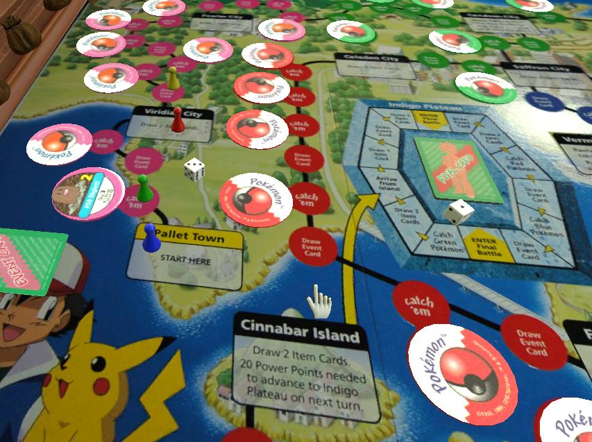Pokemon champion island board game rules