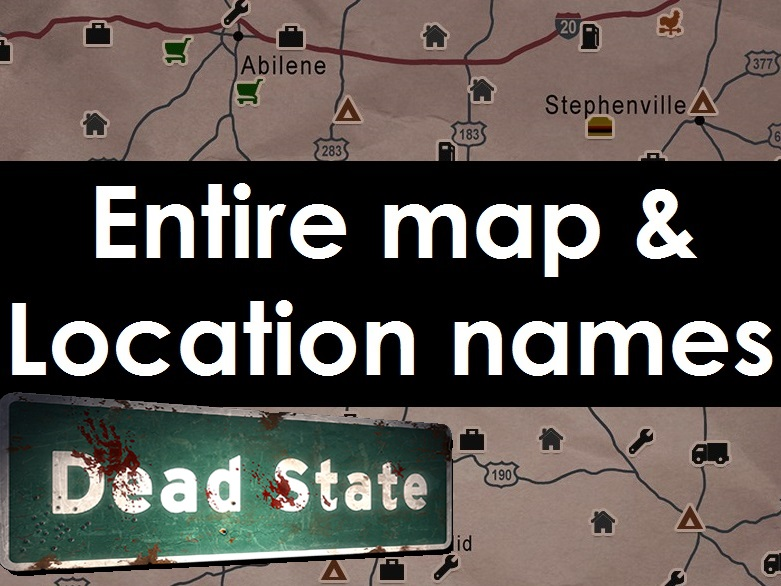 Steam munity Guide ☆ UPDATED Dead State Reanimated Map