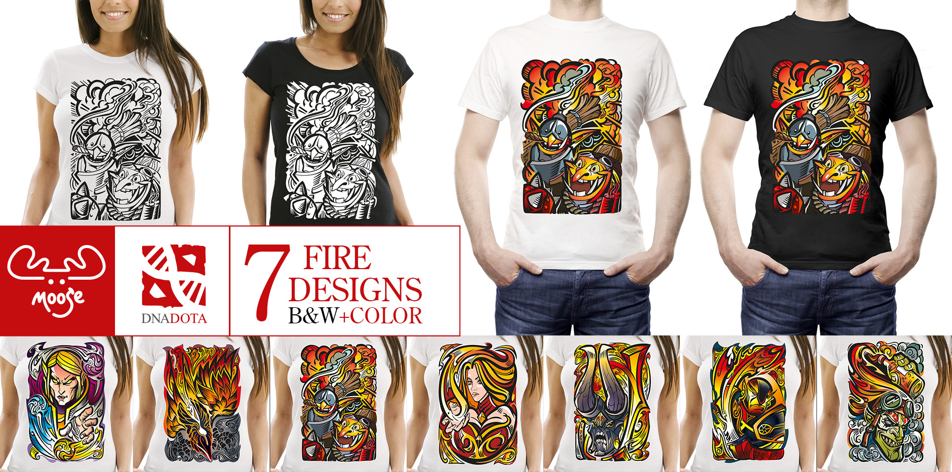 Steam Workshop 7 Fire T Shirt Designs From Moosednadota