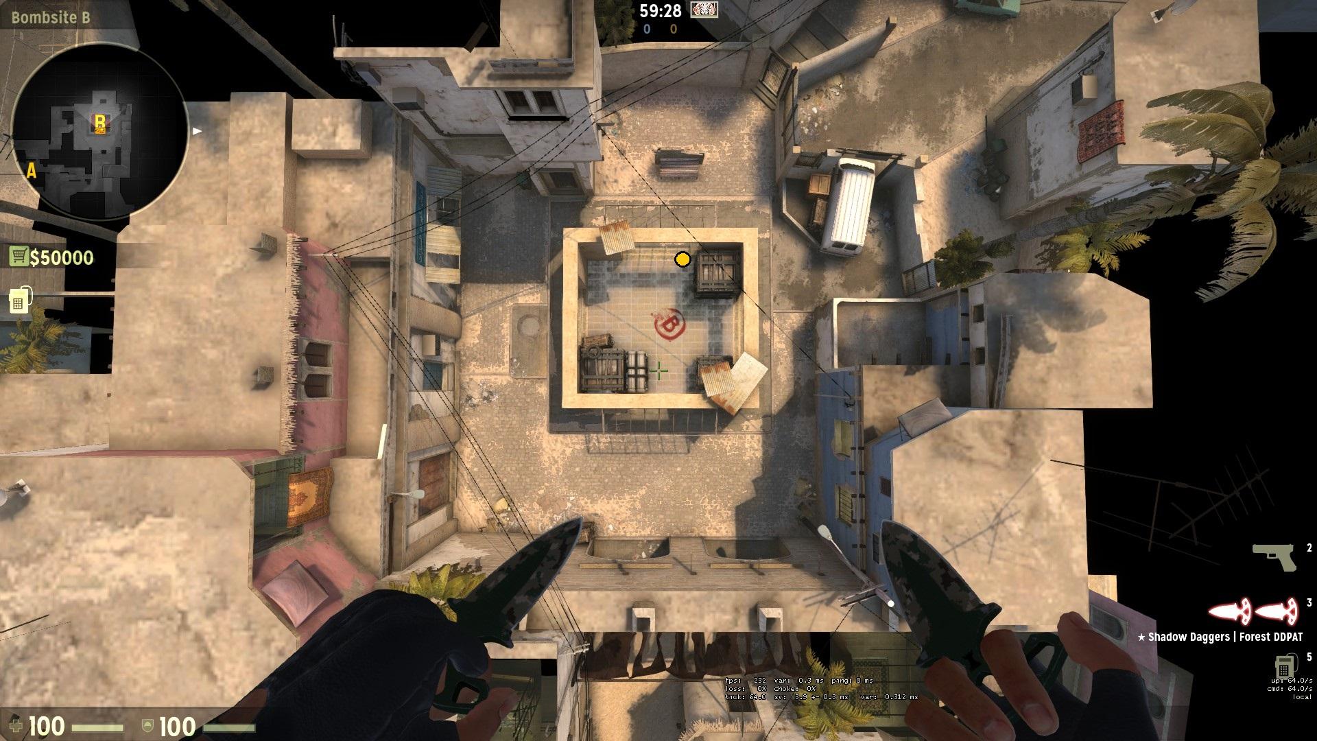 плент на точке В карты Mirage