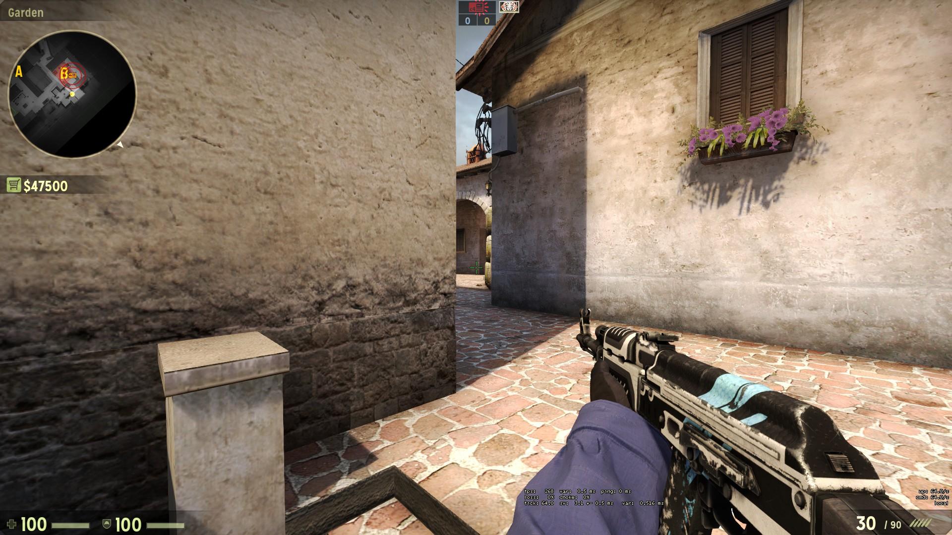Как правильно ставить бомбу в cs go