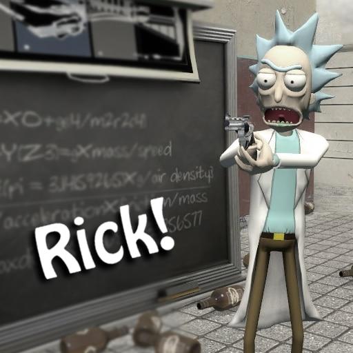 Steam Workshop::Rick Playermodel, NPCs, And Ragdoll