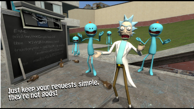 Steam workshop rick playermodel npcs and ragdoll ccuart Image collections