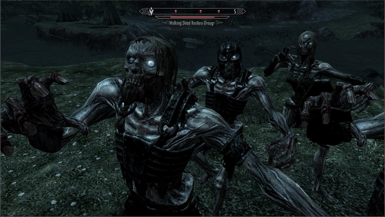 Image result for dead walking skyrim
