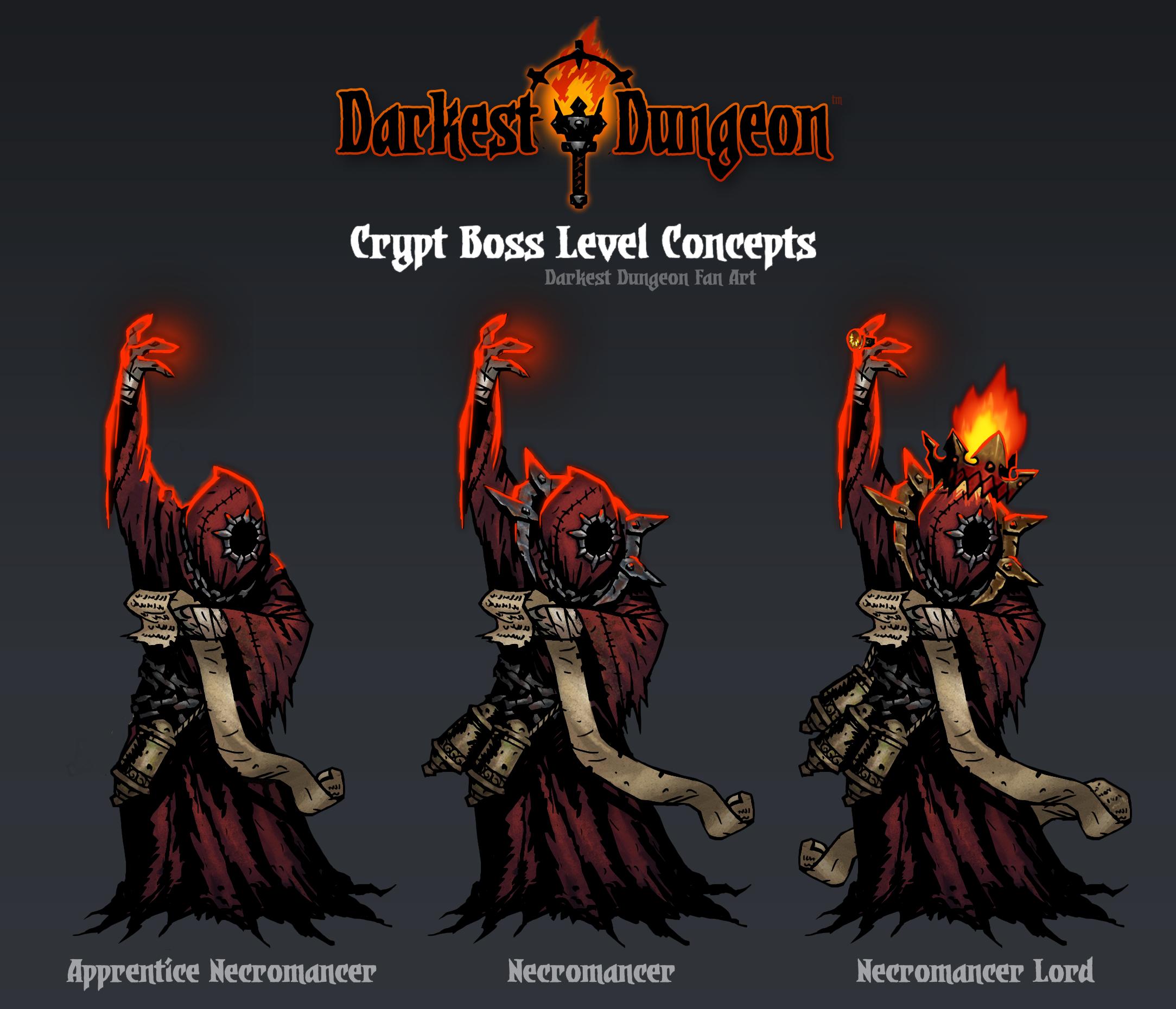 ชุมชน Steam Darkest Dungeon Necromancer Visual Upgrades