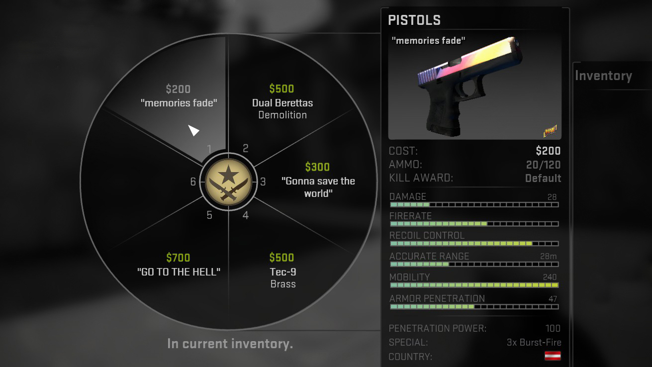 cs go weapons guide 2015
