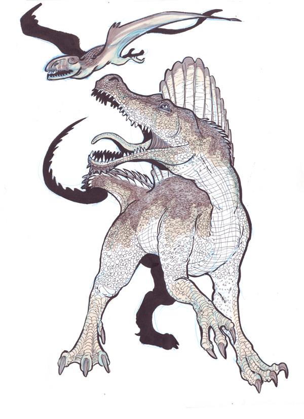 how to kill spinosaurus ark