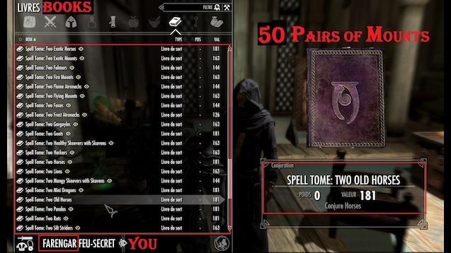 Steam Workshop :: Dual Summon Mounts Dawnguard Dragonborn