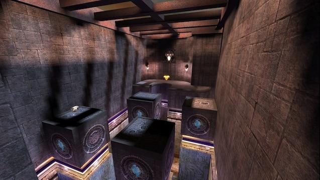 Steam Workshop::pro-q3dm6 original Quake III Arena map