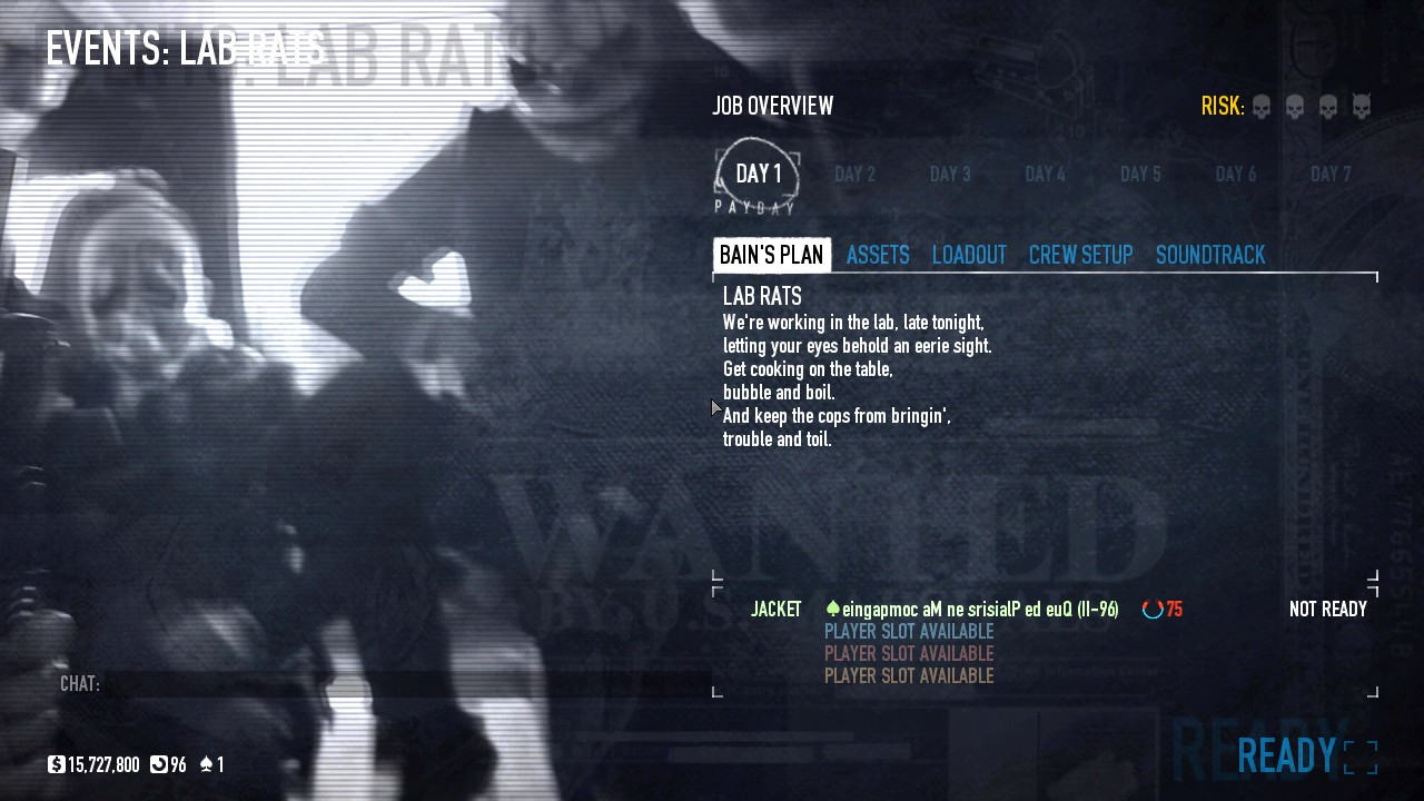 Steam Community :: Guide :: Lab Rats event guide