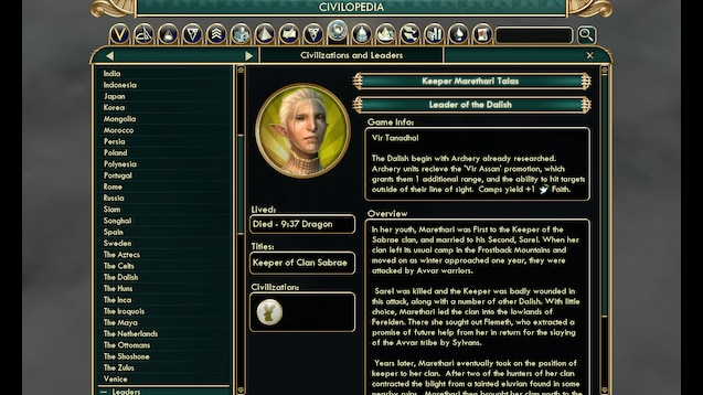 Steam Workshop :: The Dalish Elves (Dragon Age)