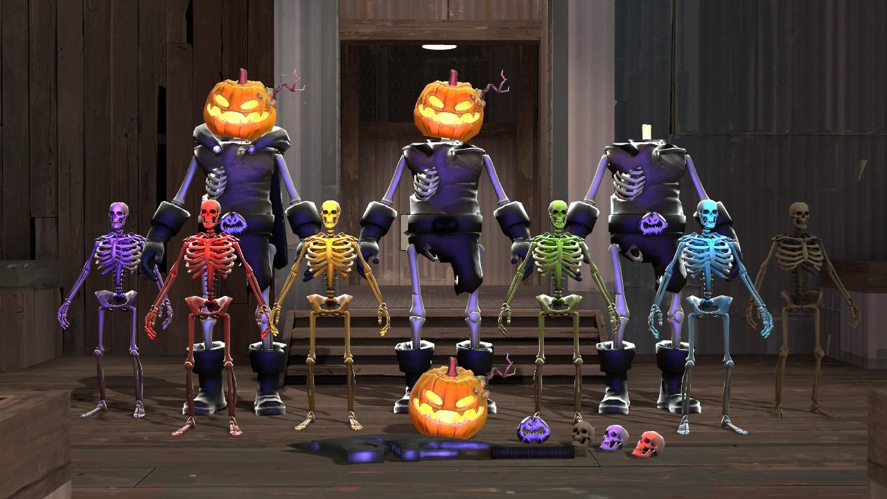 Steam Workshop :: TF2 Improved Halloween Models