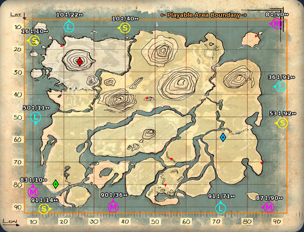 Steam Community :: Guide :: Underwater Caves on 'The Island