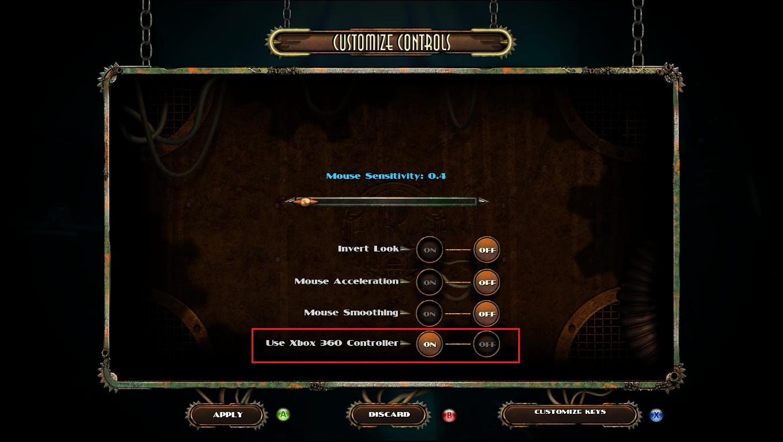 Steam Community :: Guide :: Bioshock 2 Controller