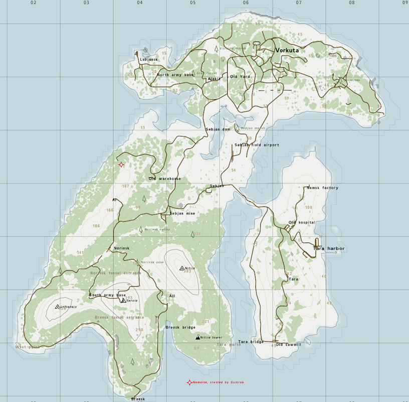 steam community guide dayz all maps