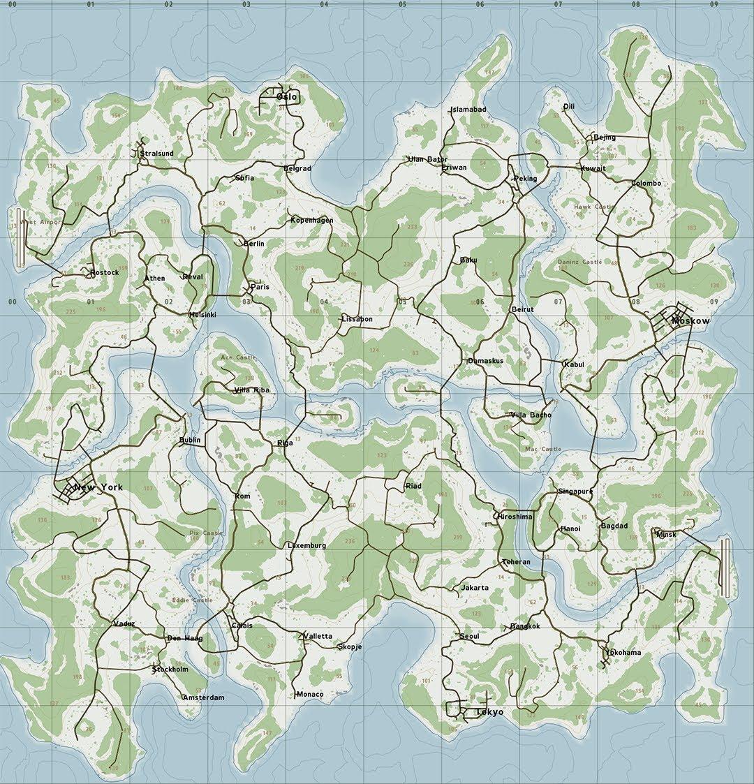 Comunità di Steam :: Guida :: DayZ - All Maps