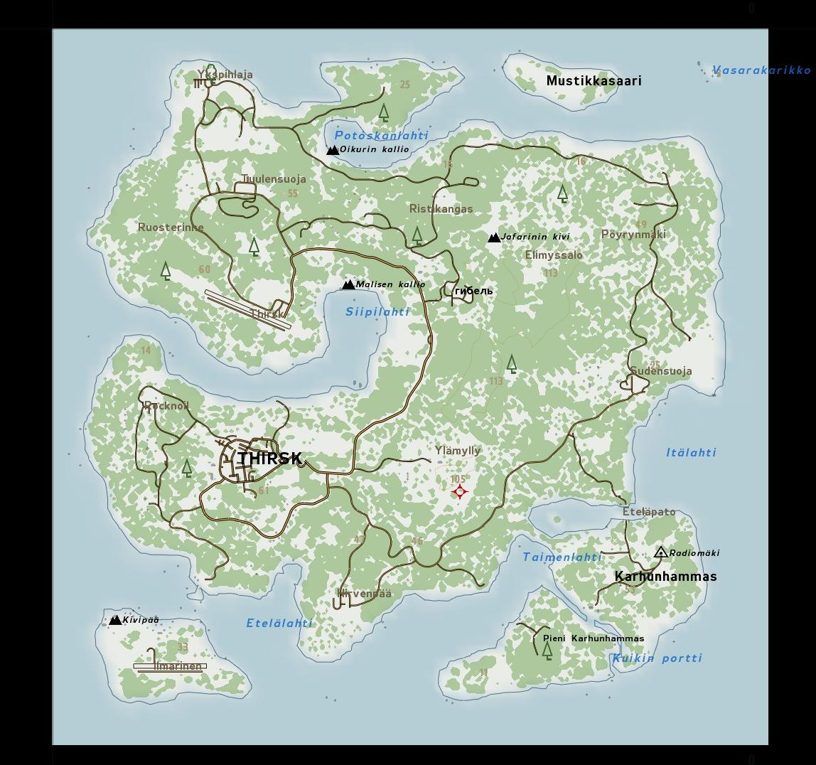 Dayz Mod Map Steam Community :: Guide :: DayZ   All Maps