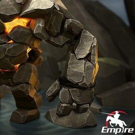 Steam Workshop :: Burning Stone Giant of the Empire - Level 4 - Left Arm