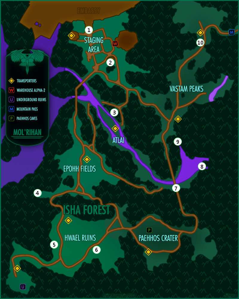 Map from STO Wiki.