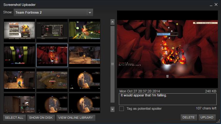Steam Community :: Guide :: Contributing Screenshots