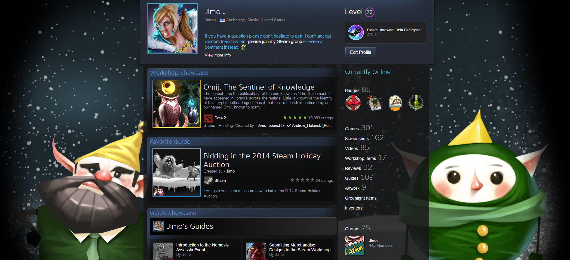 Steam Community :: Guide :: 2014 Holiday Sale Trading Cards