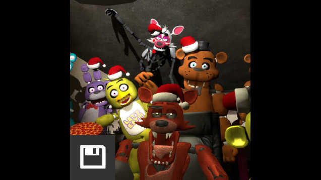 steam workshop christmas with the animatronics - Christmas Animatronics