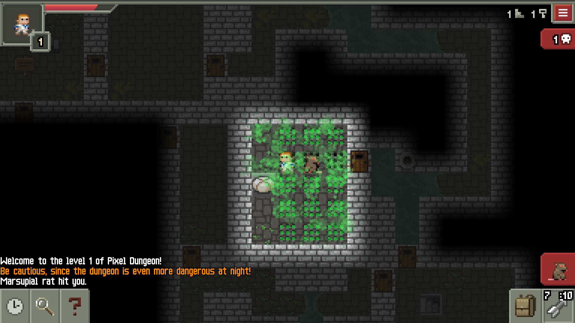 Steam Greenlight :: Pixel Dungeon