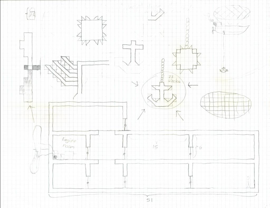 Steam Community :: :: Steampunk Airship Blueprints (Terraria) on
