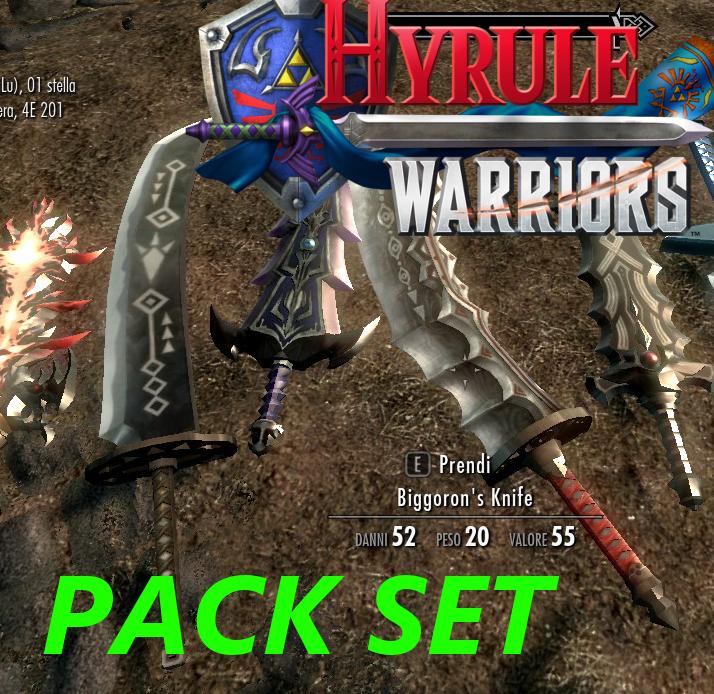 Steam Workshop Hyrule Warriors Pack Set Weapons Legend Of Zelda