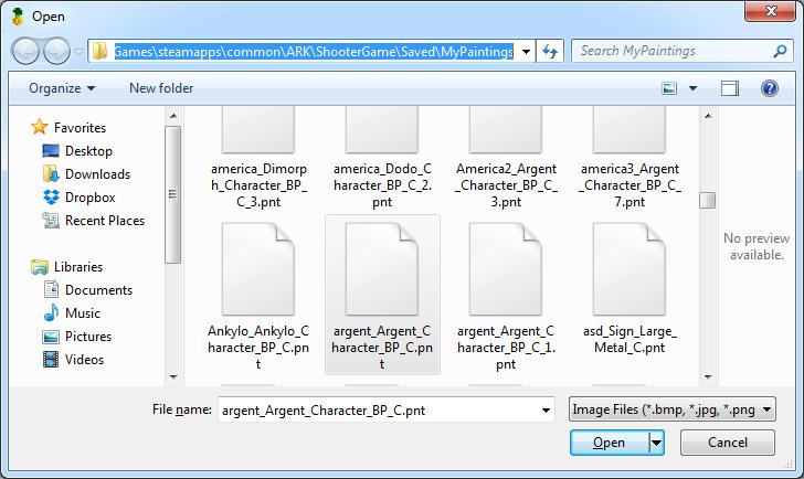 Steam Community :: Guide :: Ark Paint Converter - Convert