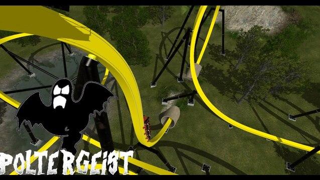 Steam Workshop :: Poltergeist [RMC T-Rex Coaster]