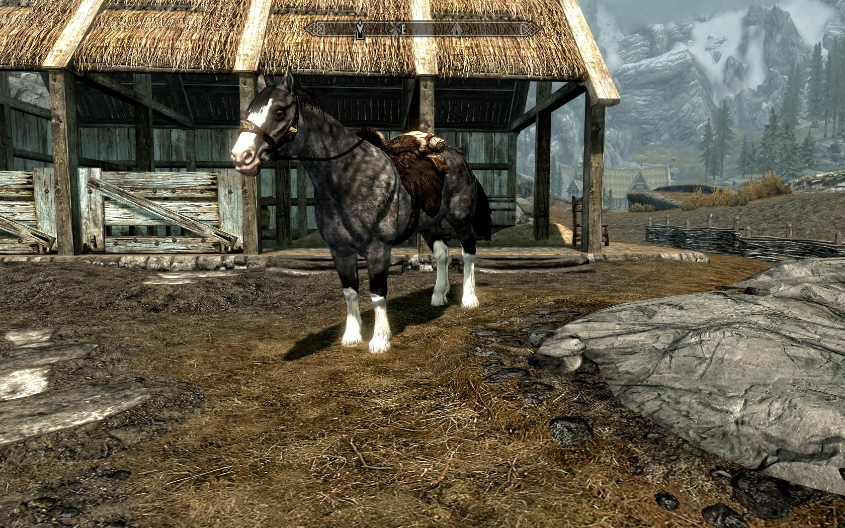 skyrim se convenient horses