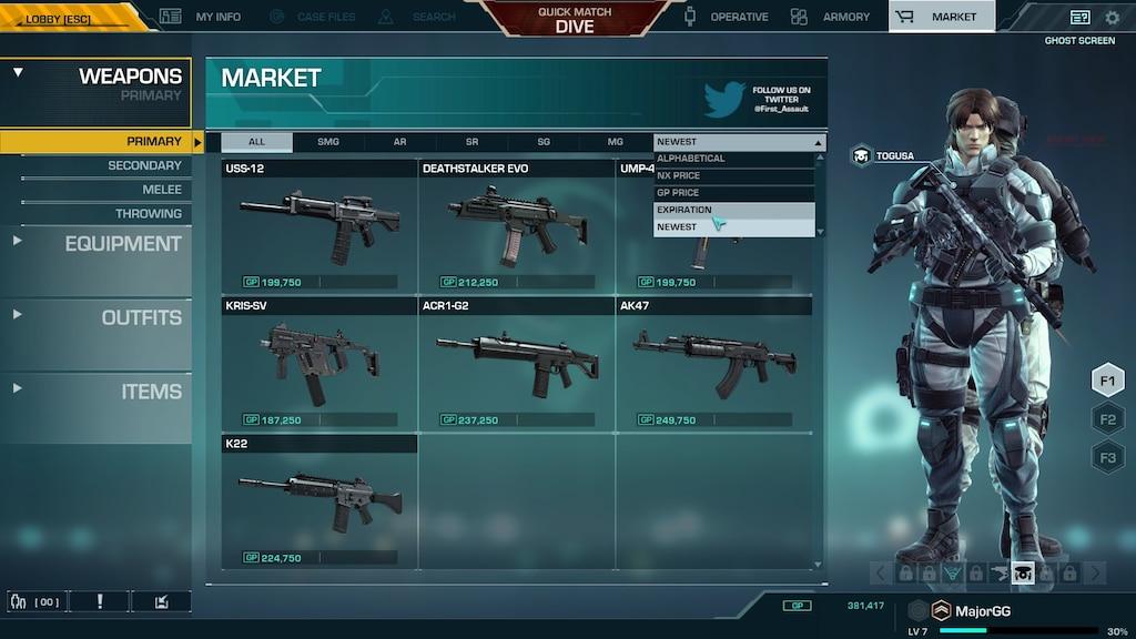 Steam Community Screenshot Ghost Shell Market Place