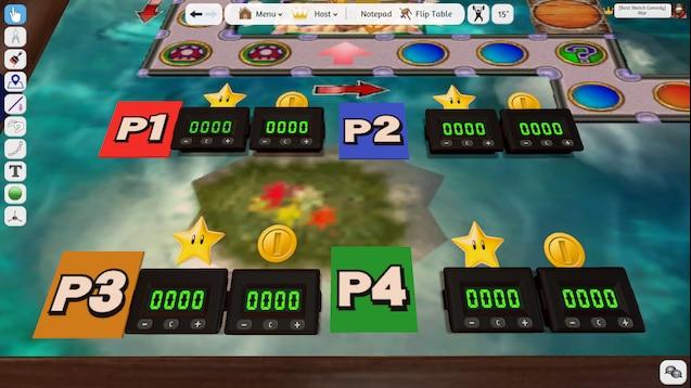 mario party board game