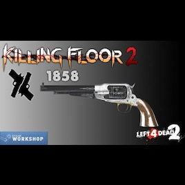Steam Workshop Killing Floor 2 1858 Revolver