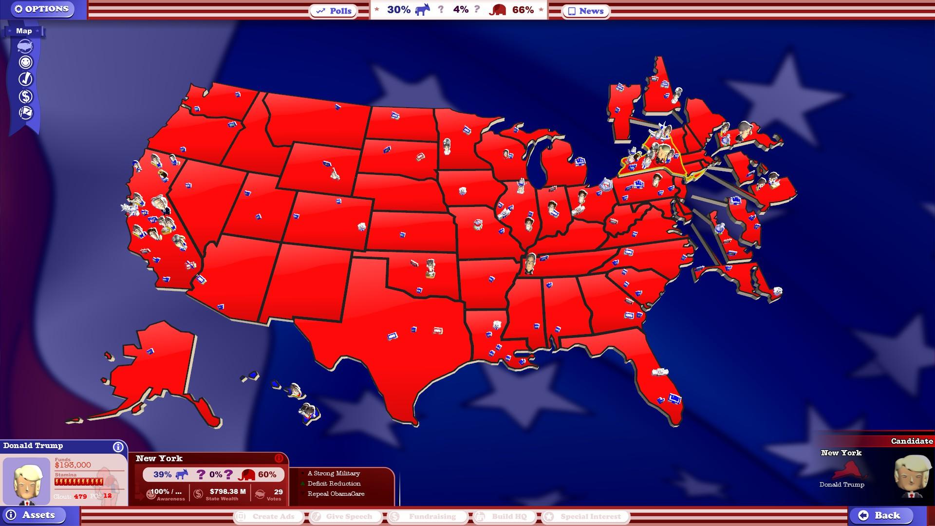 the political machine 2016 cheats