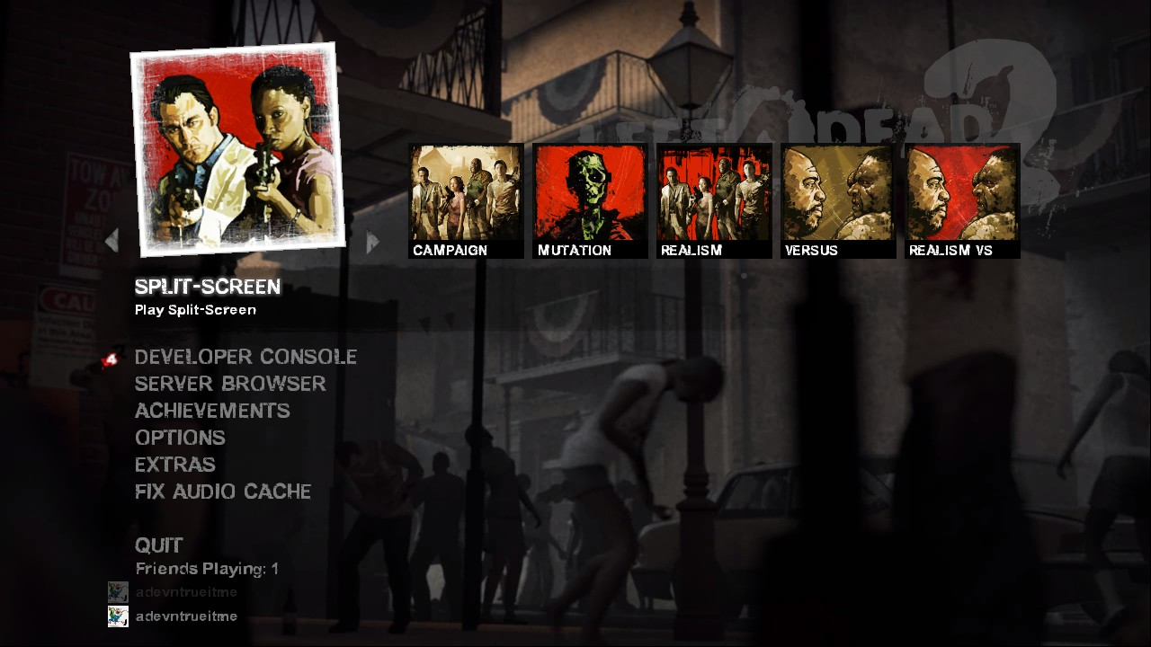 Steam Community :: Guide :: How to play L4D2 split-screen on PC