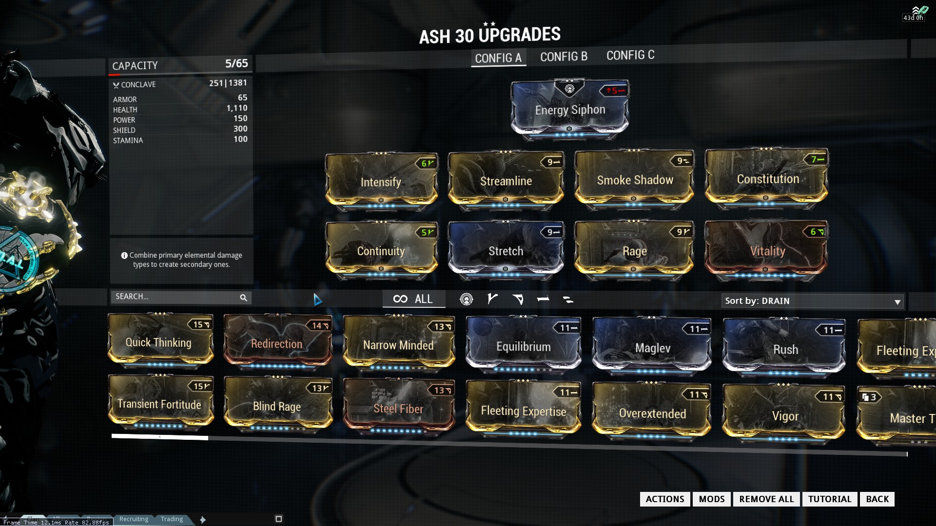 how to build a shade warframe