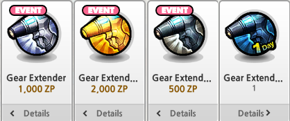 Extenders Arrive To Lost Saga During Gear Extender Events Quests So Take Advantage They Disappear After The Event Period