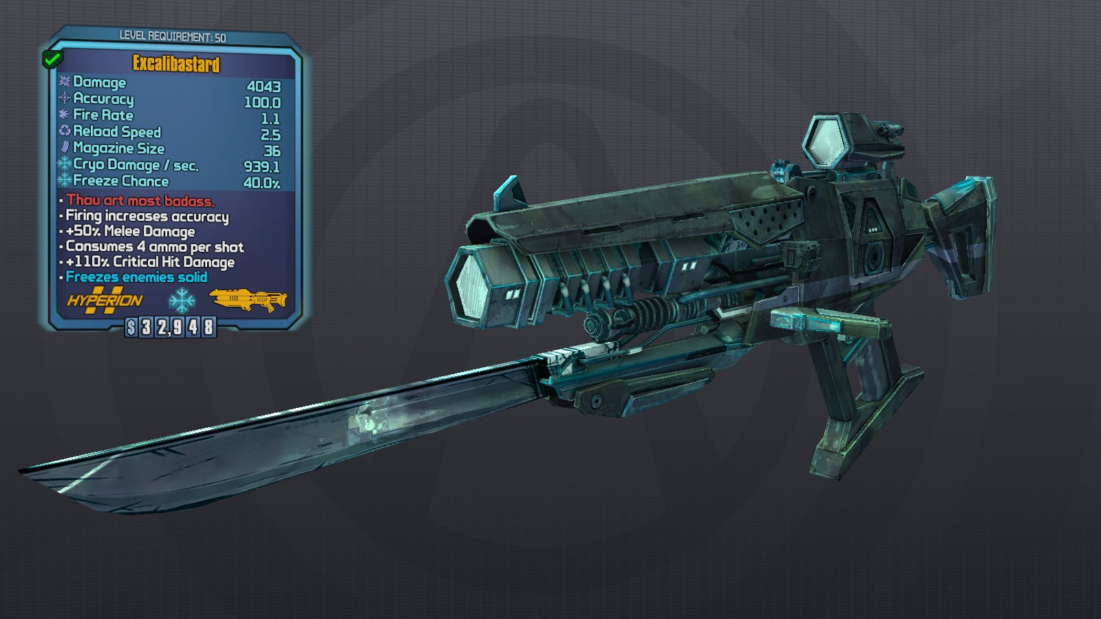Borderlands  Zero Sword Build
